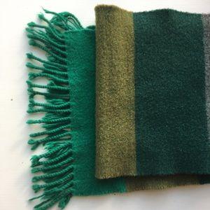 Merino wool & cashmere scarf